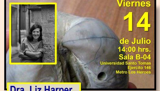 Conferencia Braquiópodos en el mundo moderno (Dra. Liz Harper)