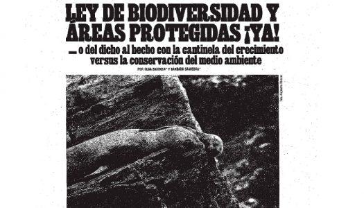 Ley de Biodiversidad y Áreas Protegidas ¡Ya!