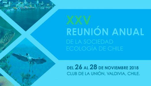 XXV Reunión de la Sociedad de Ecología de Chile Cuarta Circular