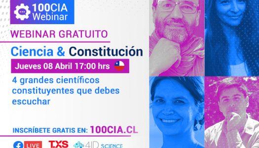 """Webinar """"Ciencia & Constitución"""""""