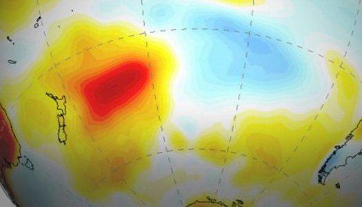 """Cómo una """"mancha caliente"""" cerca de Nueva Zelanda está contribuyendo a la megasequía en Chile y Argentina"""